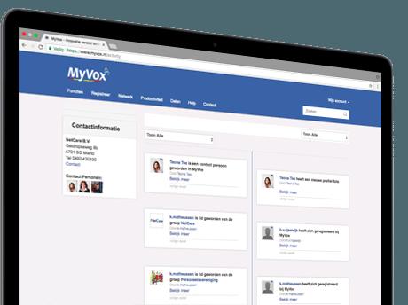 MyVox Tijdlijn
